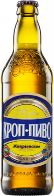 "Beer ""Zhiguliovskoye"" light, filtered, unpasteurized"
