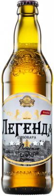 Beer The legend of the Vienskoye brewer is light, filtered, unpasteurized.
