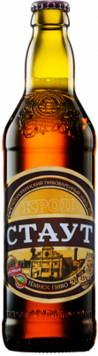 "Beer ""Krop-Staut"" dark, filtered, unpasteurized"