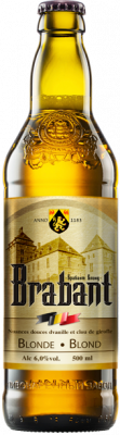 Beer «Brabant blond» (Brabant Blond) light, filtered, unpasteurized.