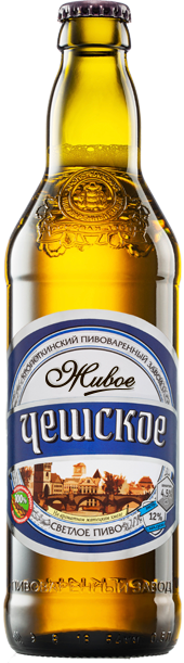 "Beer ""Czech"" light, filtered, unpasteurized."